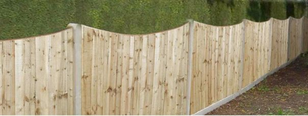 fencing panels in Glazebury