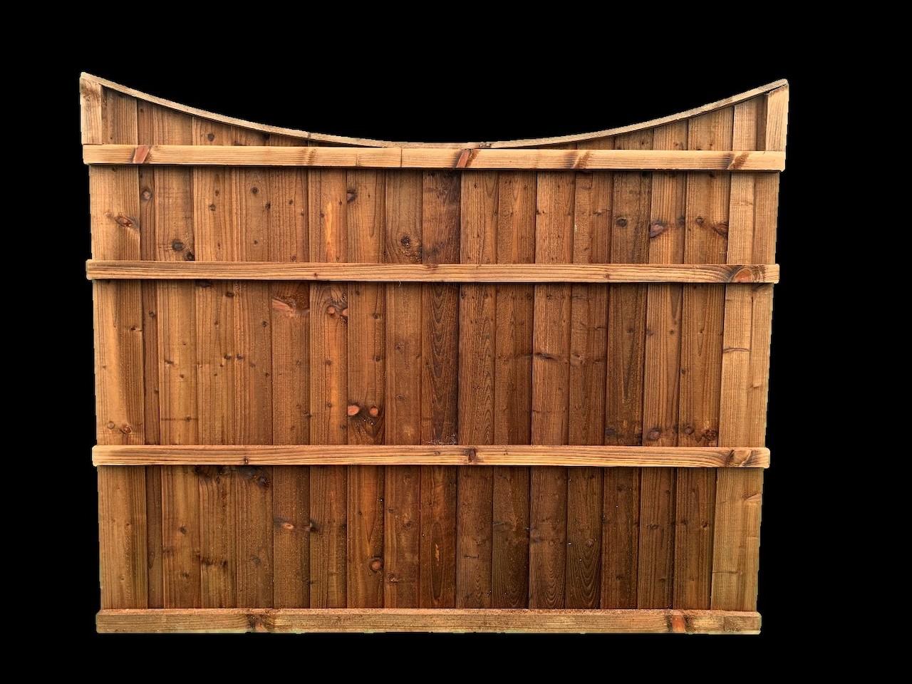 Wooden Garden Fencing in Abram