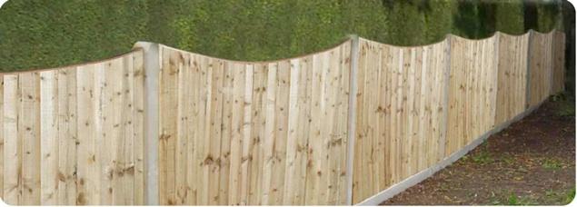 fencing panels in Glazebury