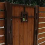 Wooden Garden Gates in Roby Mill