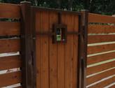 Wooden Garden Gates in Orrell