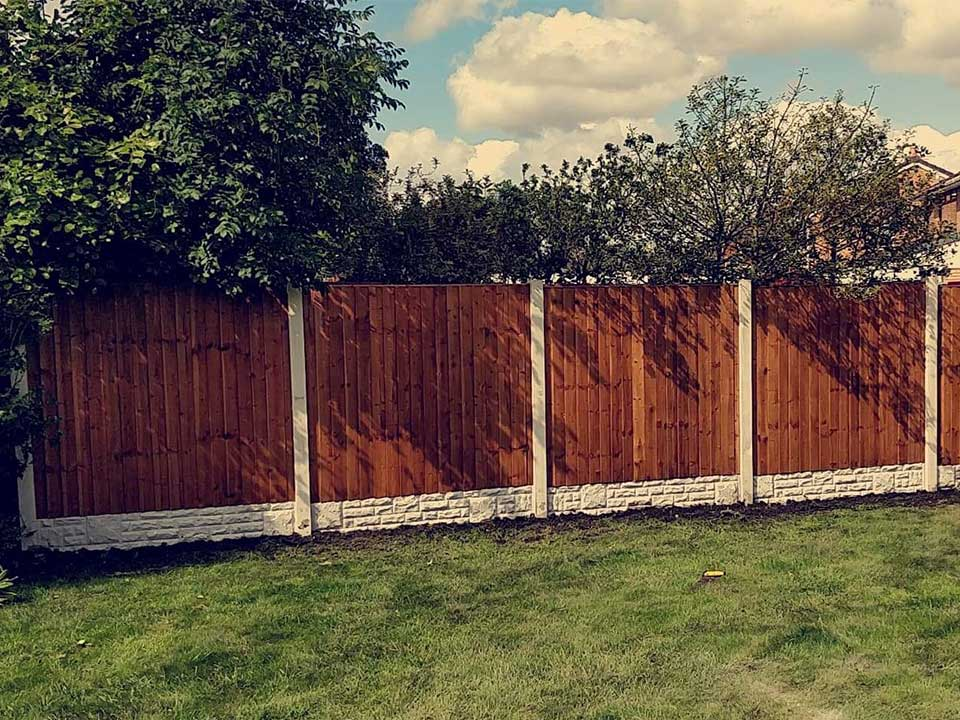 Fencing Panels in Atherton